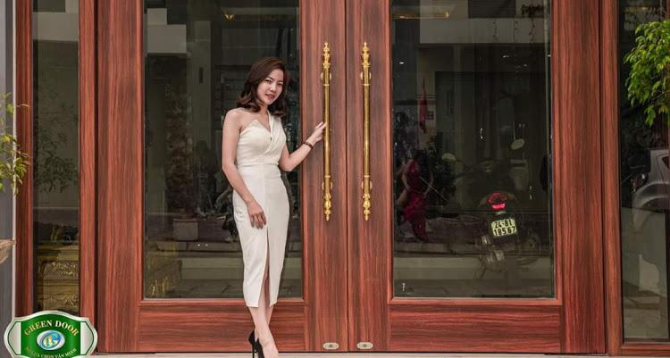 Cửa thép vân gỗ Ninh Bình.