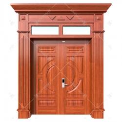 Cửa thép vân gỗ Koffmann Luxury tại Ninh Bình