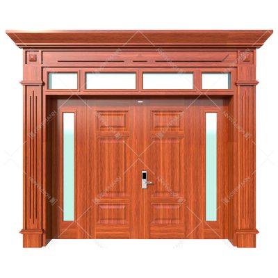 Cửa thép vân gỗ Koffmann Luxury